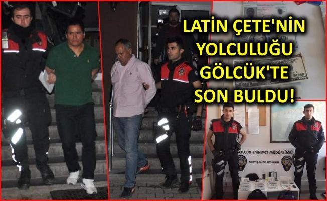 69 bin dolar çalan Latin hırsızlar yakalandı