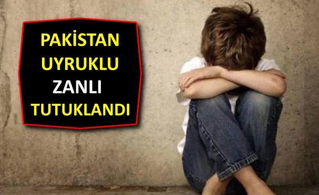 10 yaşındaki küçük çocuğa cinsel istismara tutuklama