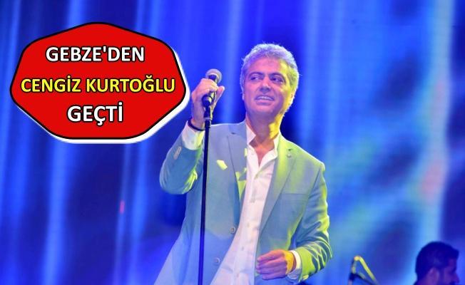 Cengiz Kurtoğlu'na Gebze konserinde sevgi seli
