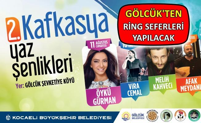 Kafkas Kültürü 10-12 Ağustos'ta bu şenlikte!