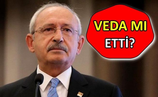 Kılıçdaroğlu CHP MYK toplantısında üyelere teşekkür etti ve...
