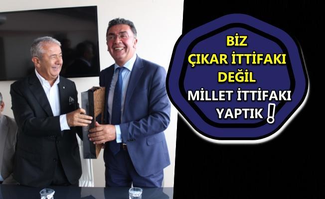 CHP İl Yönetimi'nden İYİ Parti'li Başkan Şanbaz Yıldız'a hayırlı olsun ziyareti!