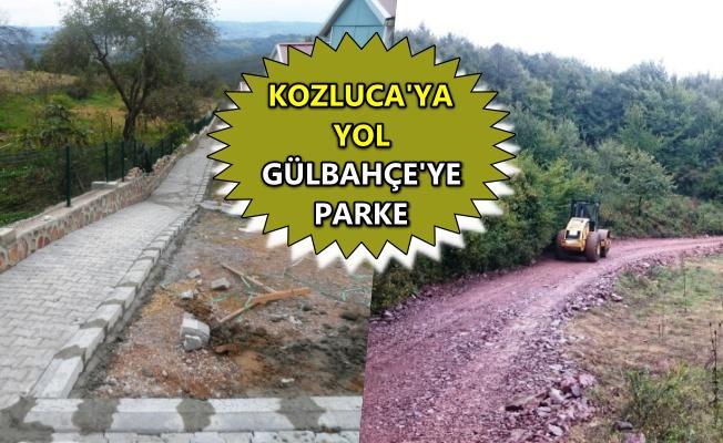 İzmit'in Gülbahçe ve Kozluca köylerinde çalışma yapıldı
