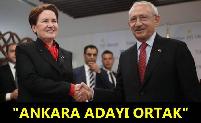 CHP ve İYİ Parti Ankara zirvesinde anlaştı!