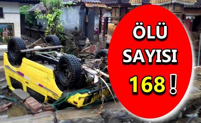 Endonezya'da tsunami felaketi!