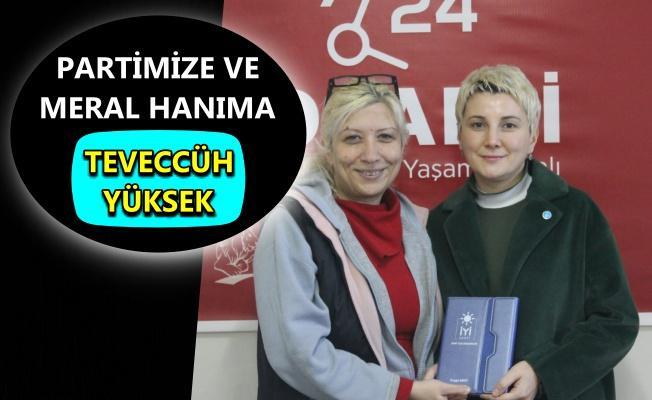 İYİ Parti İzmit Teşkilatı, gazetemizi ziyaret etti
