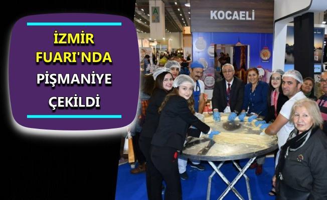 İzmir Fuarı'nda Pişmaniye lezzeti!