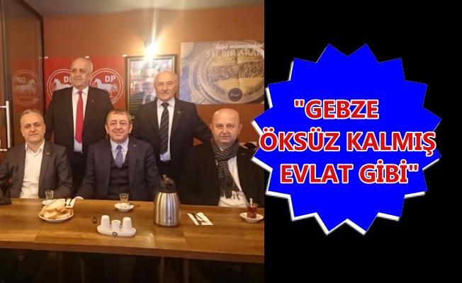 Baki Gebze'de vatandaşla buluştu
