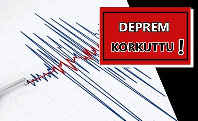 Bingöl'de 3.6 büyüklüğünde deprem!