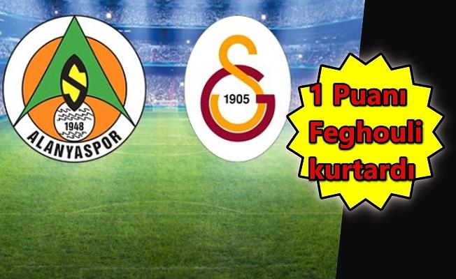 Galatasaray'ın galibiyet serisini Alanya bozdu