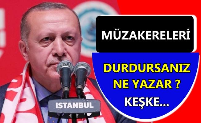 Erdoğan'dan Avrupa'ya çağrı!