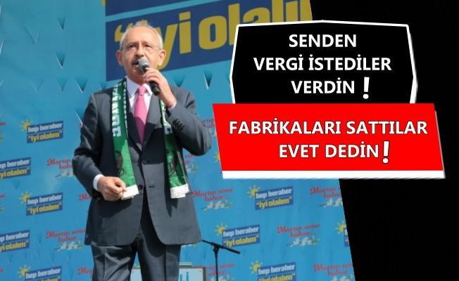 Kılıçdaroğlu AK Parti seçmenine böyle seslendi!