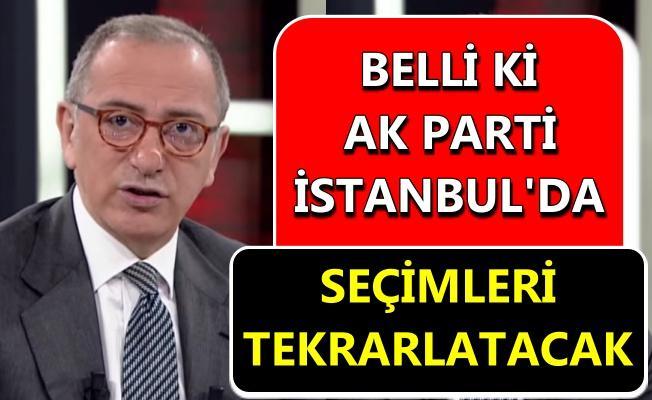 Altaylı'dan İstanbul seçimi iddiası!