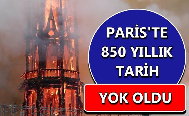 Notre Dame Katedrali kül oldu!
