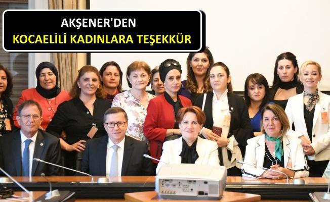 Kocaelili İYİ kadınlar 50.000 imzayla Ankara'da