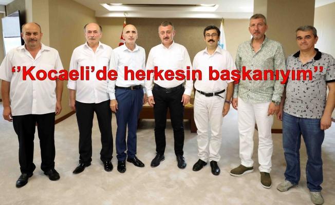 Kocaeli Rumeli Türkleri Derneği Büyükakın'ı ziyaret etti