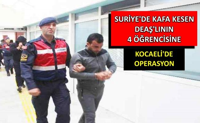 Kocaeli'de DEAŞ üyesi 4 kişi yakalandı