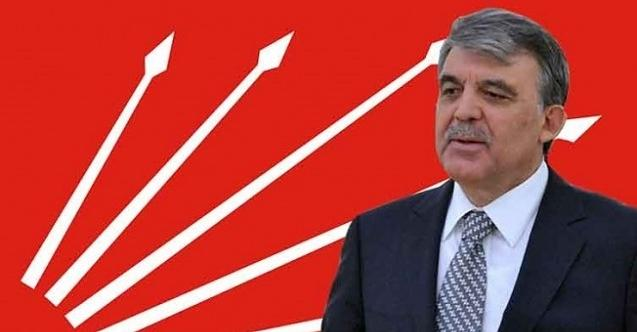 """Abdullah Gül'ün CHP'nin cumhurbaşkanı adayı olması mümkün değil!"""