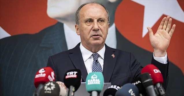 Muharrem İnce CHP'den istifa etti!