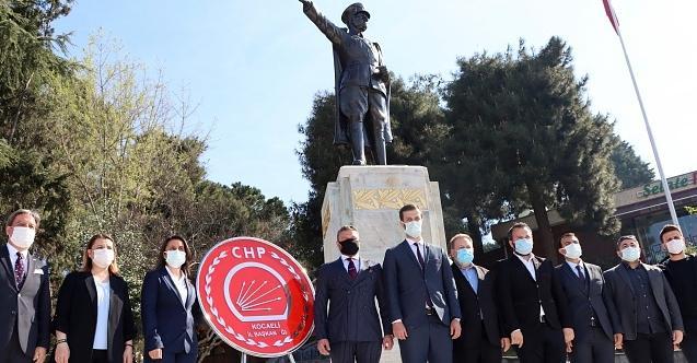 CHP Kocaeli Ata'nın huzurunda