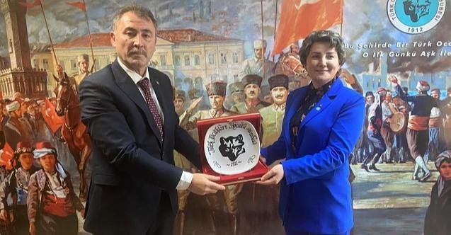 İYİ Parti İzmit'ten Türk Ocağı'na ziyaret!