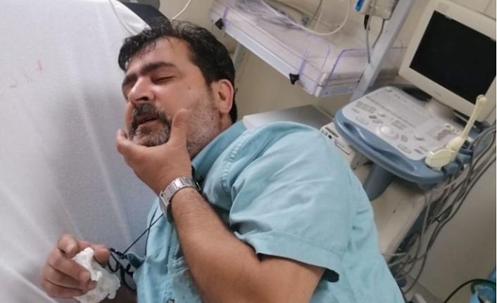 Gazeteci Erdal Sertel kaza geçirdi