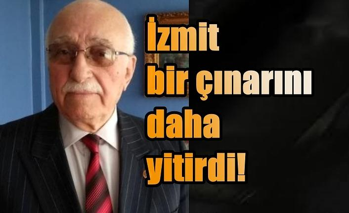 Adalet Parti'nin İzmit sembolü Hüseyin Şenses vefat etti