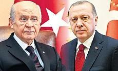 Erdoğan ile Bahçeli arasında kritik görüşme