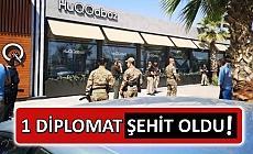 Türk diplomata saldırı!