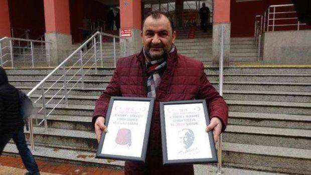 Atatürk'e hakaret edenlere suç duyurusu (Avcı)